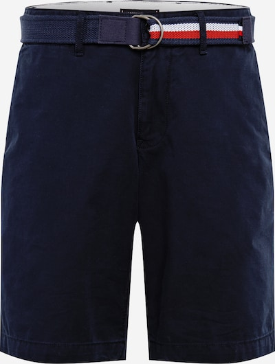 TOMMY HILFIGER Shorts 'BROOKLYN SHORT LIGHT TWILL BELT' in blau: Frontalansicht