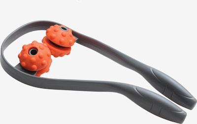 YOGISTAR.COM Nacken-Massager in grau / orange, Produktansicht