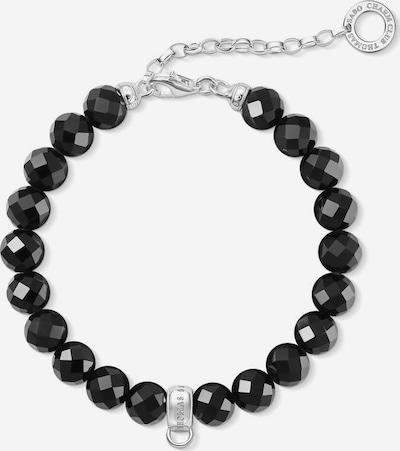 Thomas Sabo Armband 'Schwarz, X0226-840-11-L18,5v' in schwarz / silber, Produktansicht