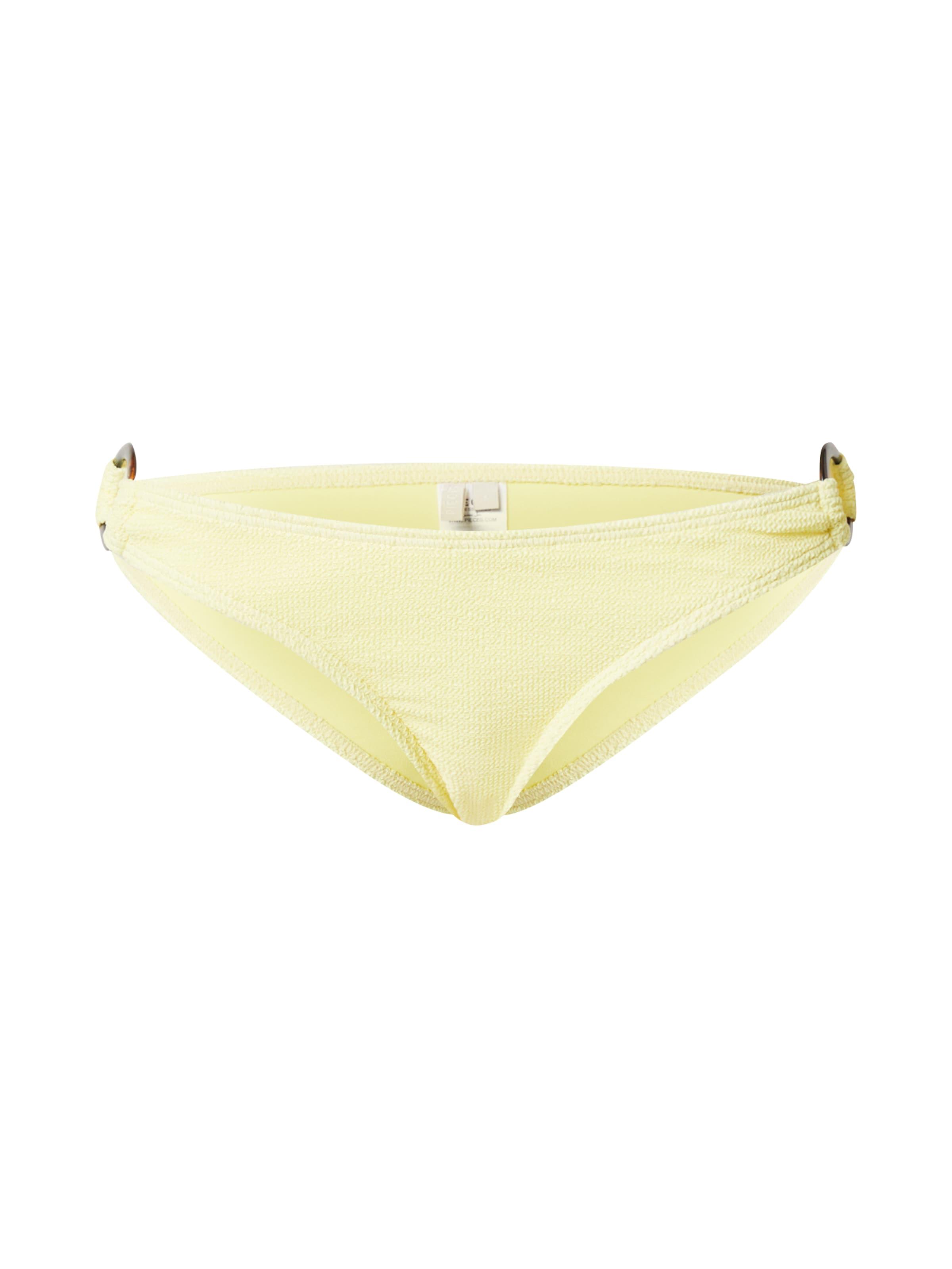 PIECES Bikini nadrágok 'PCNORA' sárga színben