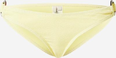 PIECES Bikinihose 'PCNORA' in gelb, Produktansicht