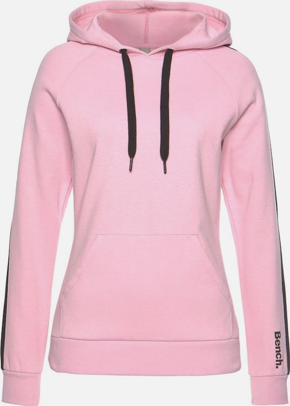 BENCH Sweatshirt in rosa, Produktansicht