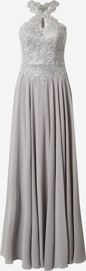 LUXUAR Abendkleid in hellgrau / silber, Produktansicht
