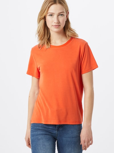 SOAKED IN LUXURY T-Shirt 'Columbine' in rot: Frontalansicht