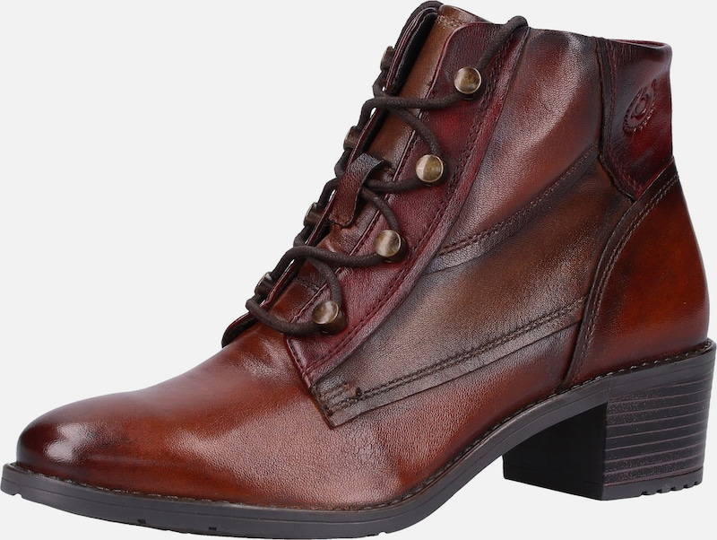 Bugatti Damen 411333343515 Stiefel, Rot (Dark Red