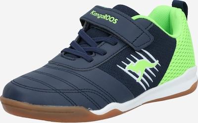 KangaROOS Sportschoen 'Super Court EV' in de kleur Navy / Limoen, Productweergave
