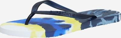 Superdry Žabky - námornícka modrá / žlté / biela, Produkt