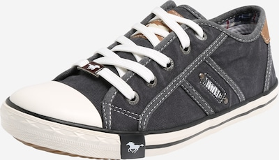 Sneaker low MUSTANG pe chamois / negru amestecat, Vizualizare produs