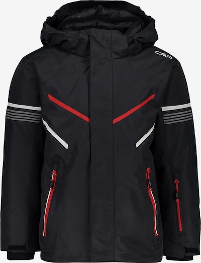 CMP Jacke 'Boys Snaps Hood Jacke' in schwarz, Produktansicht