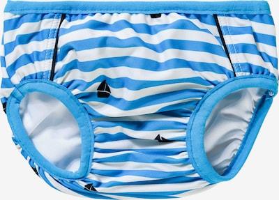 NAME IT Badehose 'Nmmzanito' in blau / schwarz / weiß, Produktansicht