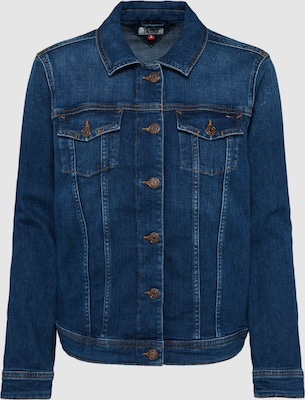 Tommy Jeans Tussenjas 'VIVIANNE' in Blauw denim