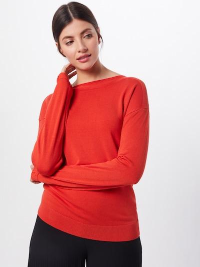 MORE & MORE Pullover in orangerot, Modelansicht