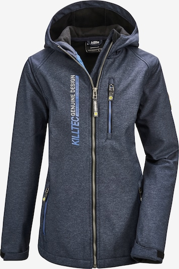 KILLTEC Jacke 'Bantry' in blau / dunkelblau, Produktansicht