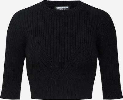 Fashion Union Pull-over 'BANANA' en noir, Vue avec produit