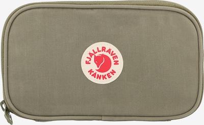 Fjällräven Porte-monnaies 'Kanken' en beige / kaki / rouge, Vue avec produit