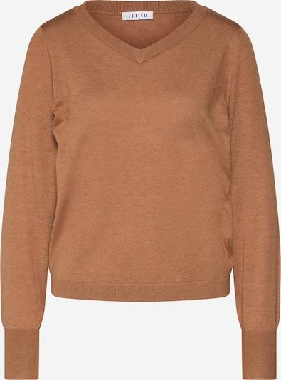 EDITED Pullover  'Harison' in camel, Produktansicht