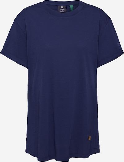 G-Star RAW T-shirt 'Lash' en bleu nuit, Vue avec produit