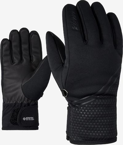 ZIENER Gants de sport 'Kanta GTX INF' en noir, Vue avec produit