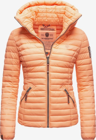 MARIKOO Steppjacke ' Löwenbaby ' in orange: Frontalansicht