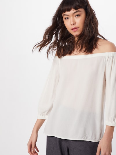 ESPRIT Bluse 'CHEESECLOTH' in offwhite, Modelansicht