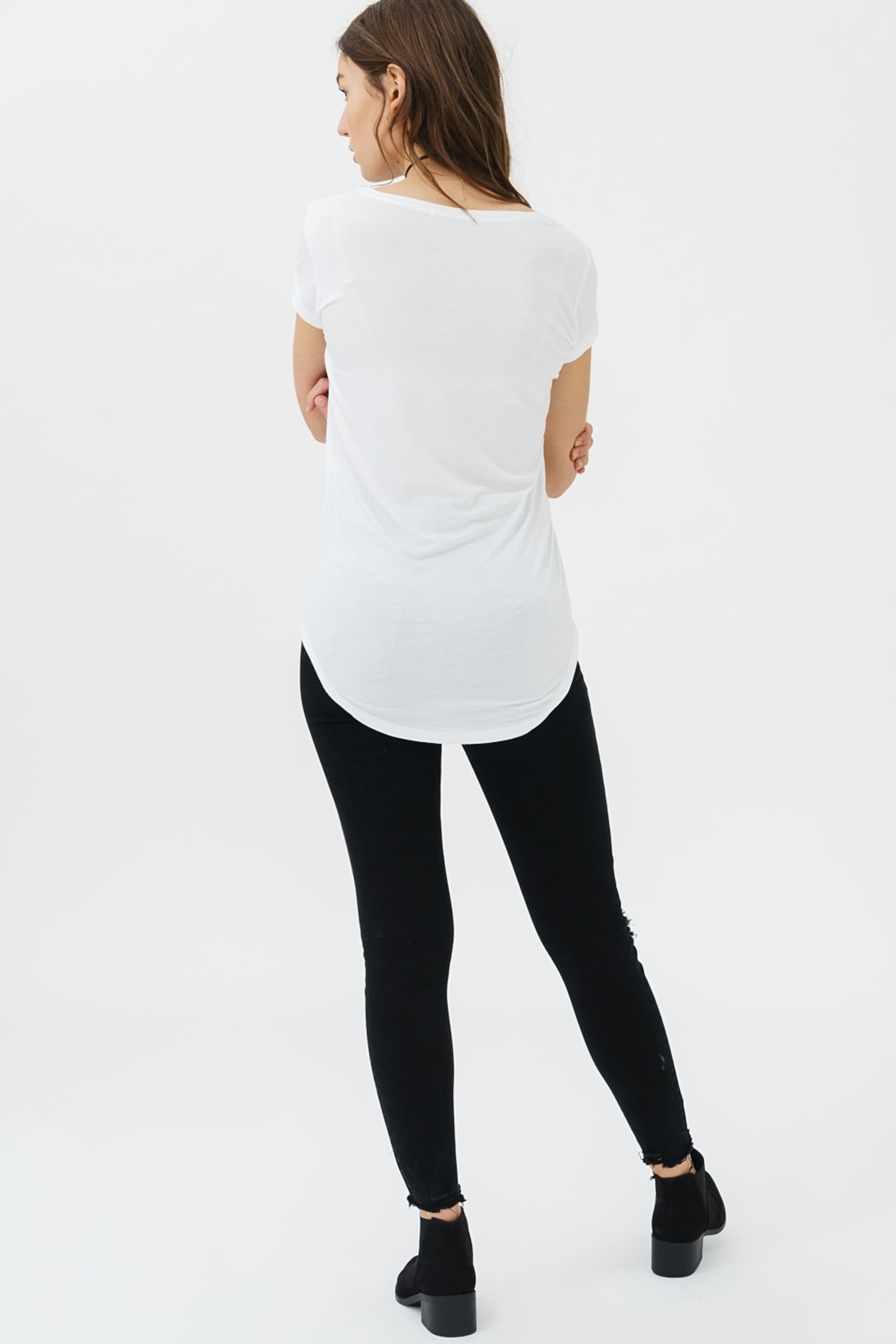 HelllilaSchwarz Weiß Trueprodigy shirt 'lynette' In T 3A5R4jLqSc