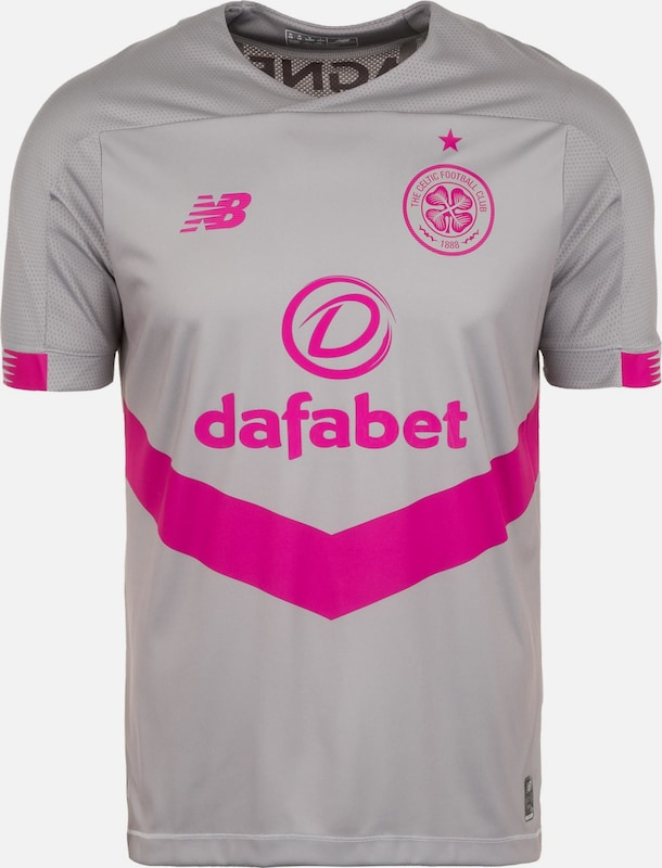new balance Trikot 'Celtic Glasgow 3rd 2019/2020' in grau: Frontalansicht