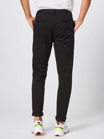 SCOTCH & SODA Pantalon chino 'Stuart' en noir: Vue de dos