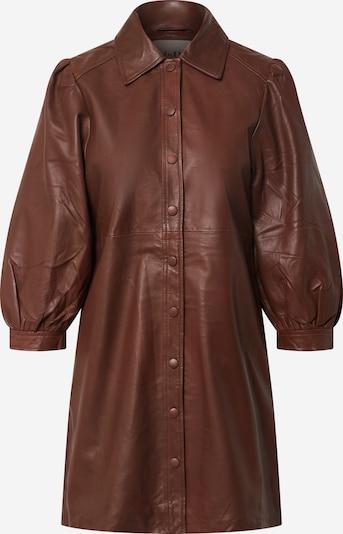 Palaidinės tipo suknelė 'Amilie' iš mbym , spalva - ruda, Prekių apžvalga