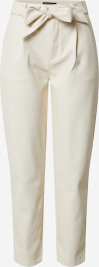 Dorothy Perkins Hose 'Cream PU Belted Trouser' in creme, Produktansicht