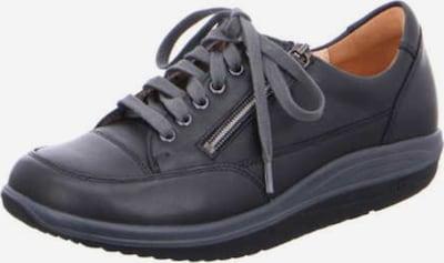 Ganter Schnürschuhe in dunkelgrau / schwarz, Produktansicht