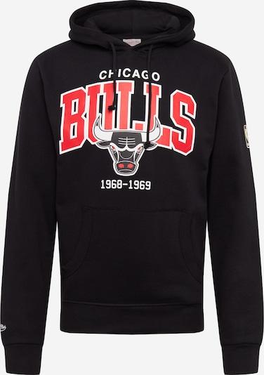 Mitchell & Ness Hoodie 'Bulls' in rot / schwarz, Produktansicht