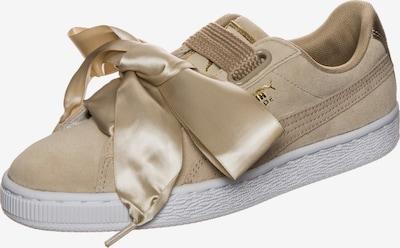 PUMA Sneaker 'Suede Heart Safari' in hellbraun / weiß, Produktansicht