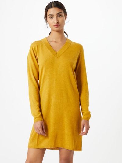 JACQUELINE de YONG Úpletové šaty 'Zoe' - zlatě žlutá, Model/ka