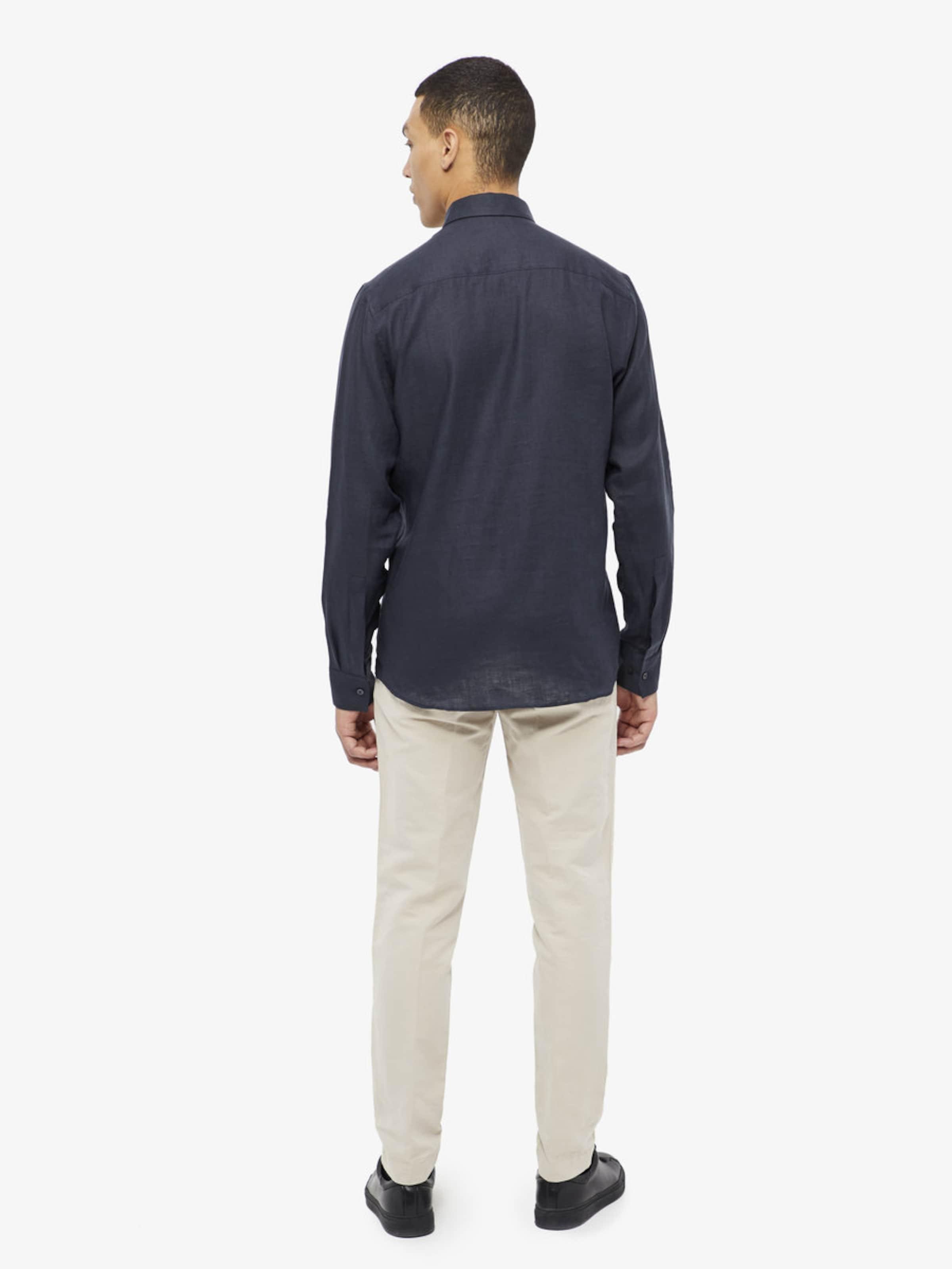 J.Lindeberg 'Daniel' Leinen Melange Hemd Verkauf Countdown-Paket Countdown-Paket Günstig Kaufen Niedriger Preis Versandgebühr Hh8LJAry4
