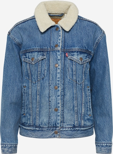 LEVI'S Between-season jacket 'Ex-Bf Sherpa Trucker' in blue denim, Item view