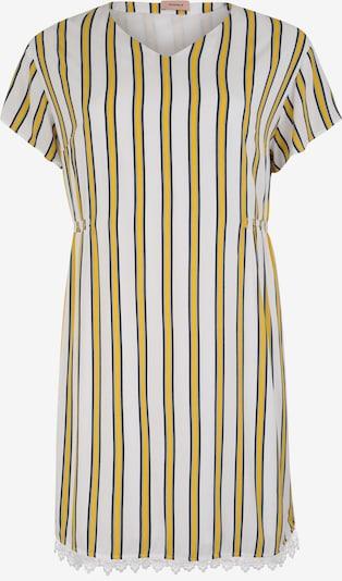 TRIANGLE Damen - Kleider 'KLEID KURZ' in gelb / weiß, Produktansicht