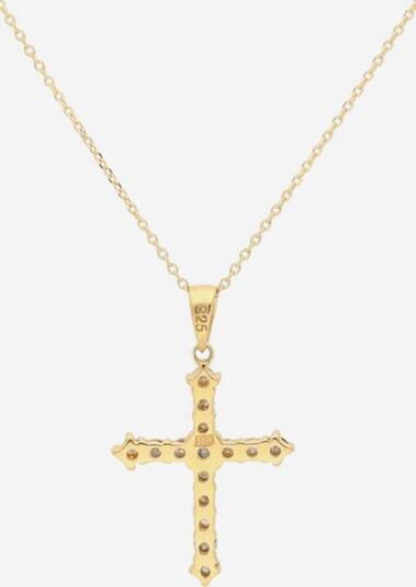 FIRETTI Kreuzkette in gold, Produktansicht