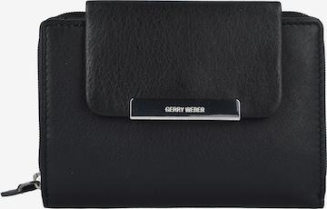 GERRY WEBER Geldbörse 'Vigo' 13 cm in Schwarz