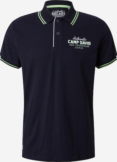 CAMP DAVID Majica | mornarska barva, Prikaz izdelka
