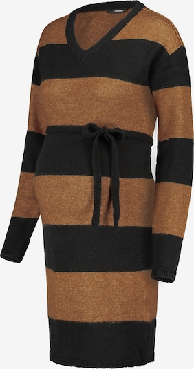 Supermom Kleid 'Block Stripe in cognac / schwarz, Produktansicht