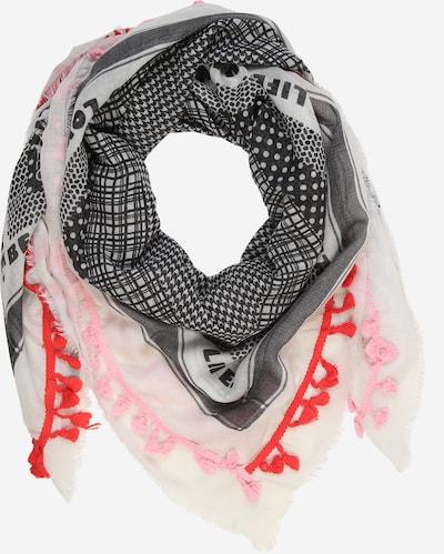 CODELLO Tuch 'Kiss From A Rose' in rosa / schwarz / weiß, Produktansicht