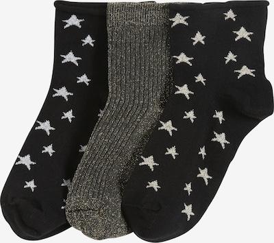 Pinned by K Ponožky - zlatá / čierna, Produkt