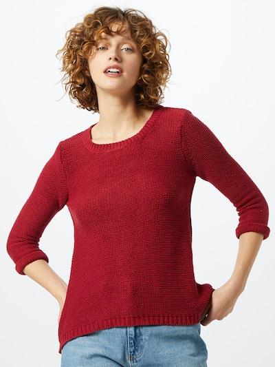 Mavi Pullover in rot, Modelansicht