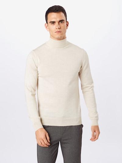 Casual Friday Rollkragen Pullover in sand, Modelansicht