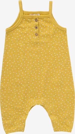 People Wear Organic Strampler in gelb / weiß, Produktansicht