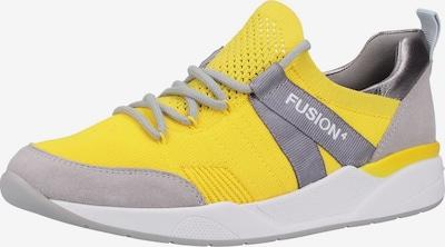 ARA Sneaker in gelb / grau: Frontalansicht