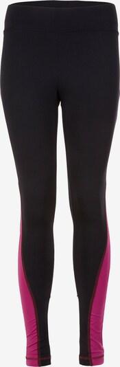 KAMAH Active Leggings 'roxy' in fuchsia / schwarz / weiß, Produktansicht