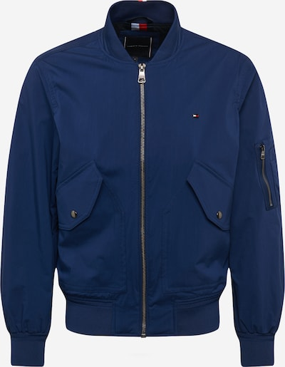 TOMMY HILFIGER Tussenjas in de kleur Donkerblauw / Rood / Wit, Productweergave