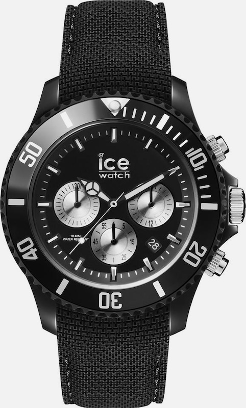 ICE WATCH Chronograph in schwarz, Produktansicht