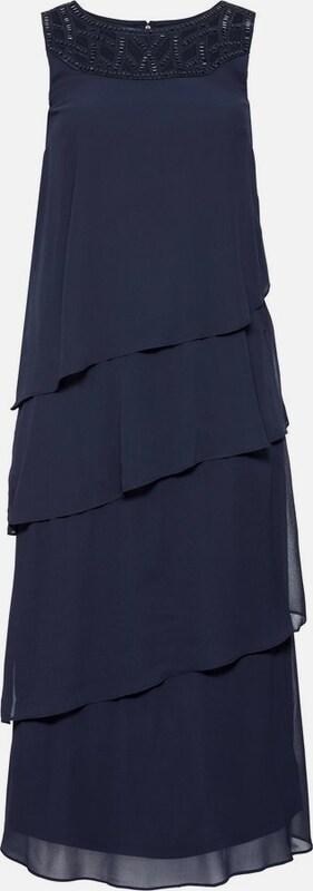 Sheego style Abendkleid in marine  Mode neue Kleidung